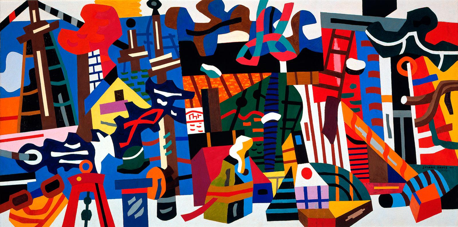 Stuart Davis: Swing Landscape, 1938
