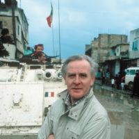 John le Carré, Beirut, Lebanon, 1983; photograph by Don McCullin