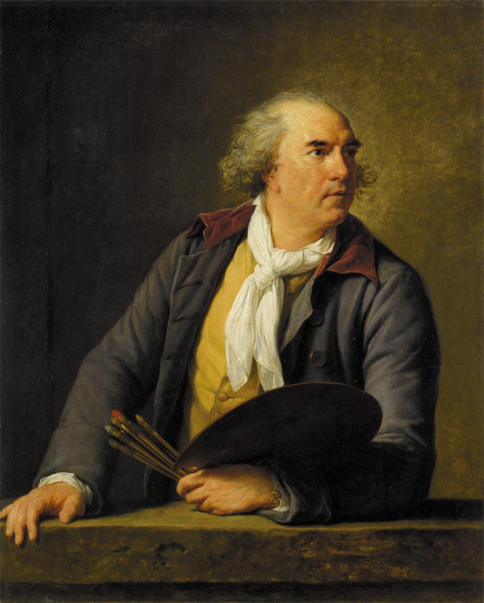 Hubert Robert; painting by Élisabeth Louise Vigée Le Brun, 1788