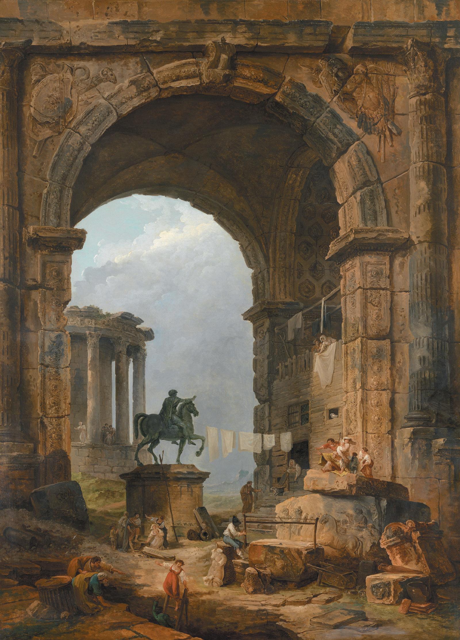 Hubert Robert Amp The Joy Of Ruins By Colin B Bailey