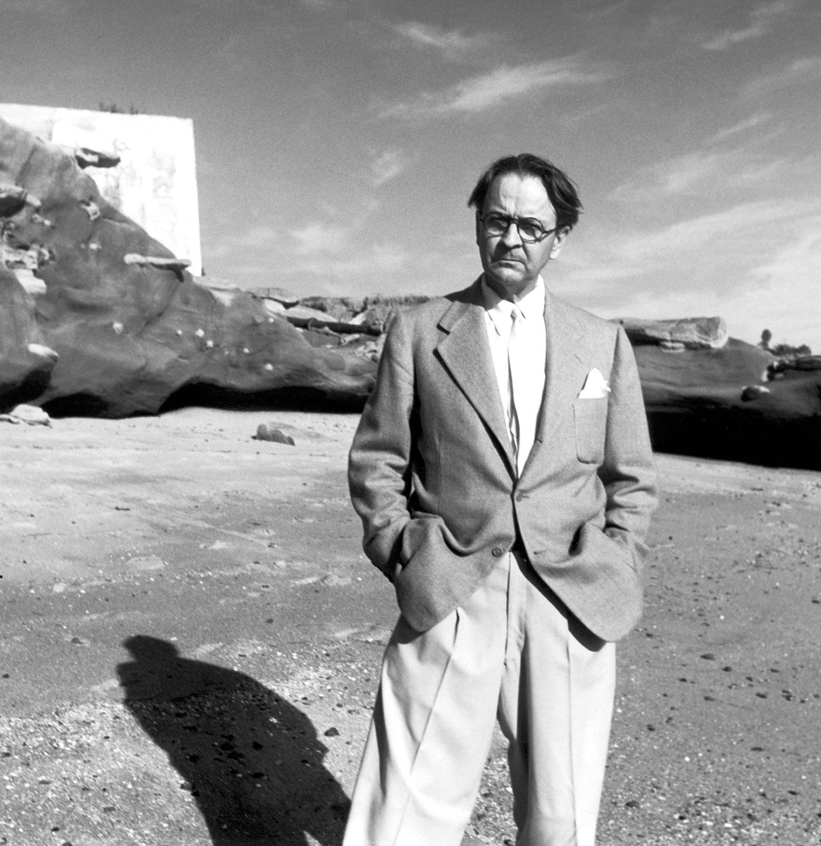 Raymond Chandler, 1947; photograph by George Platt Lynes