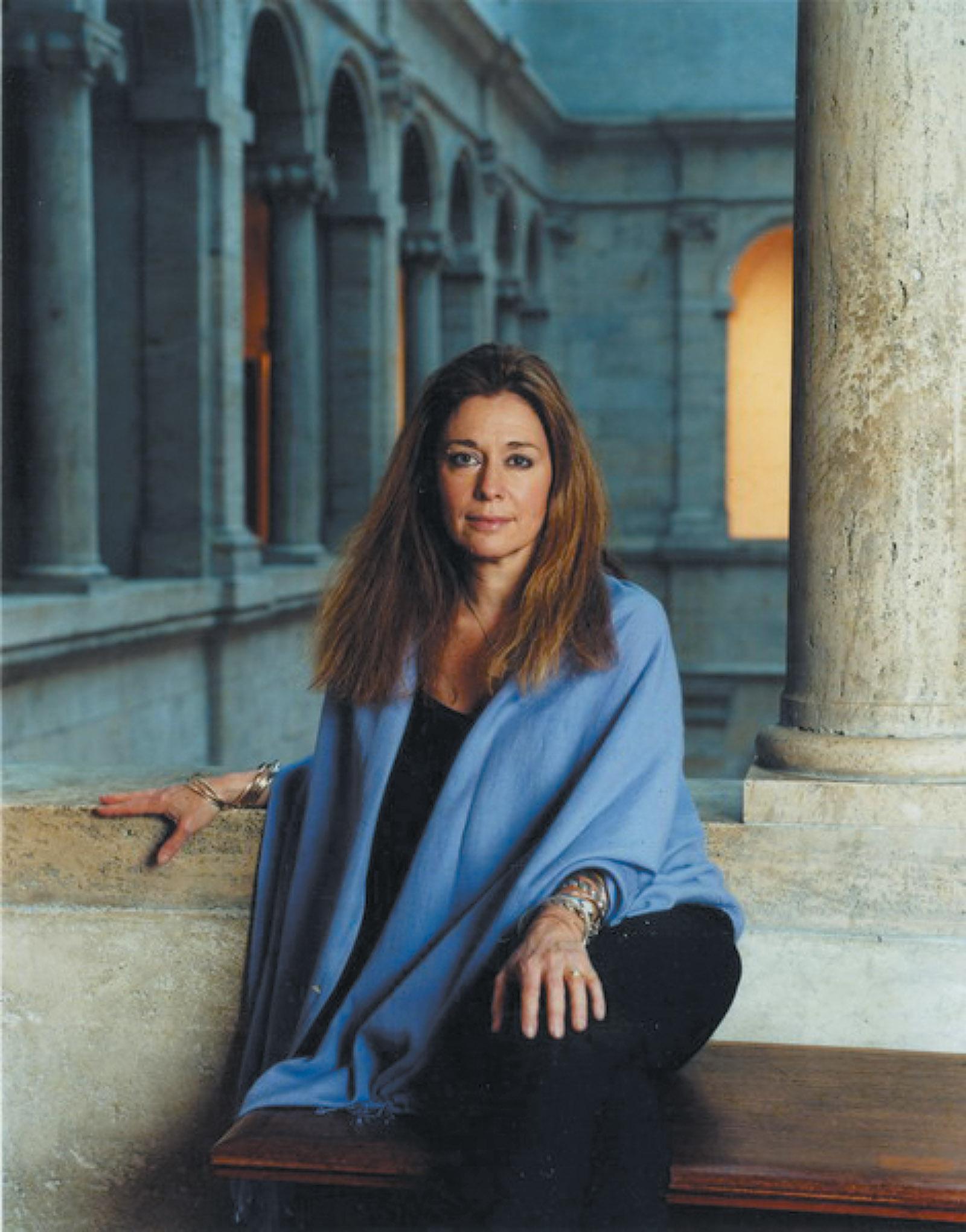 Jorie Graham at Harvard's Fogg Museum, Cambridge, Massachusetts, 2003