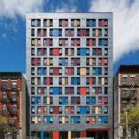 Alexander Gorlin Architects' Boston Road Supportive Housing (2016), Bronx, New York