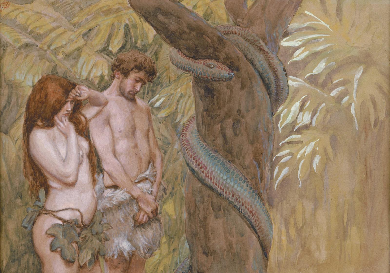 James Tissot: God's Curse, circa 1896–1902