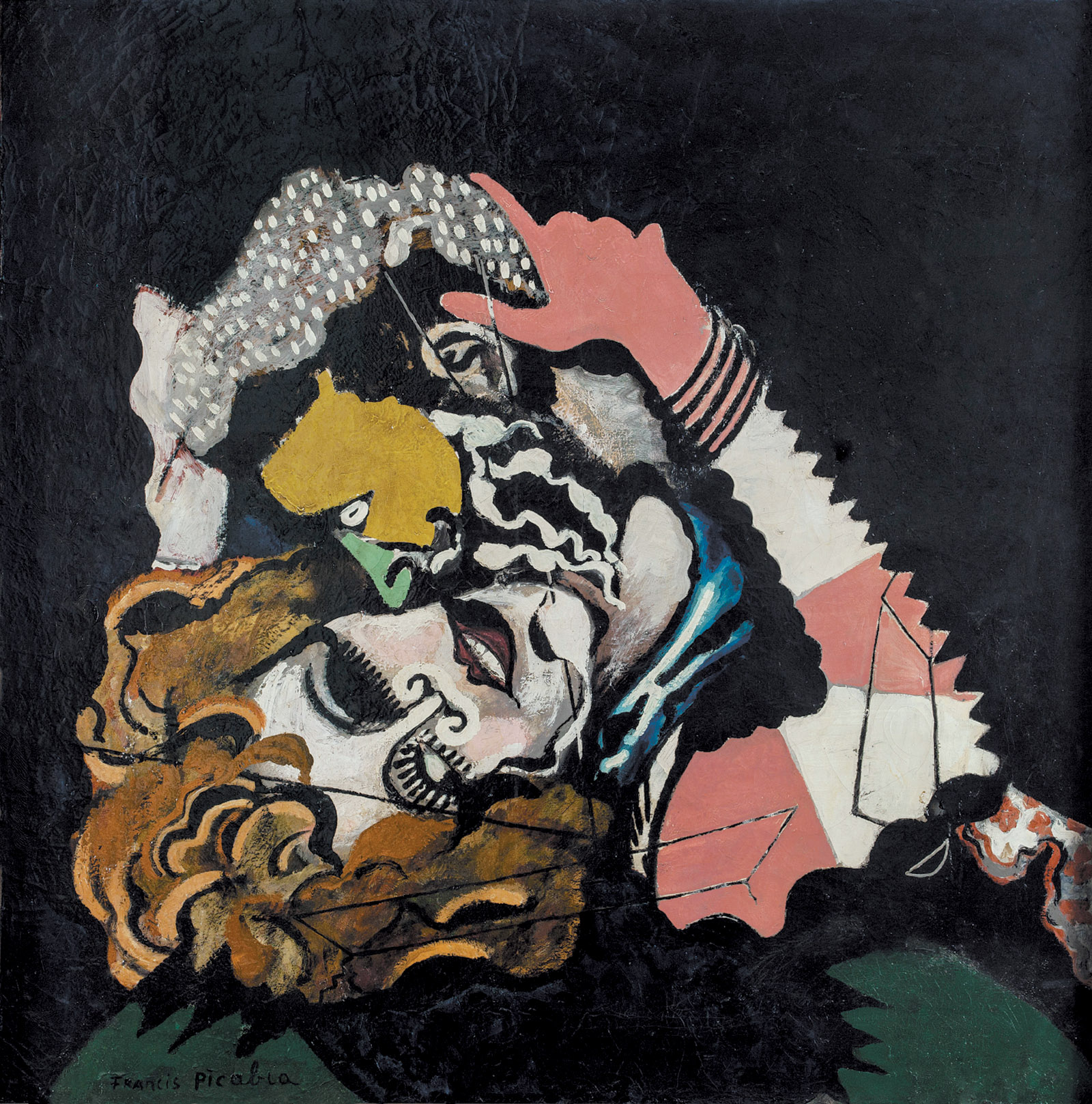 Francis Picabia: The Lovers (After the Rain), 1925