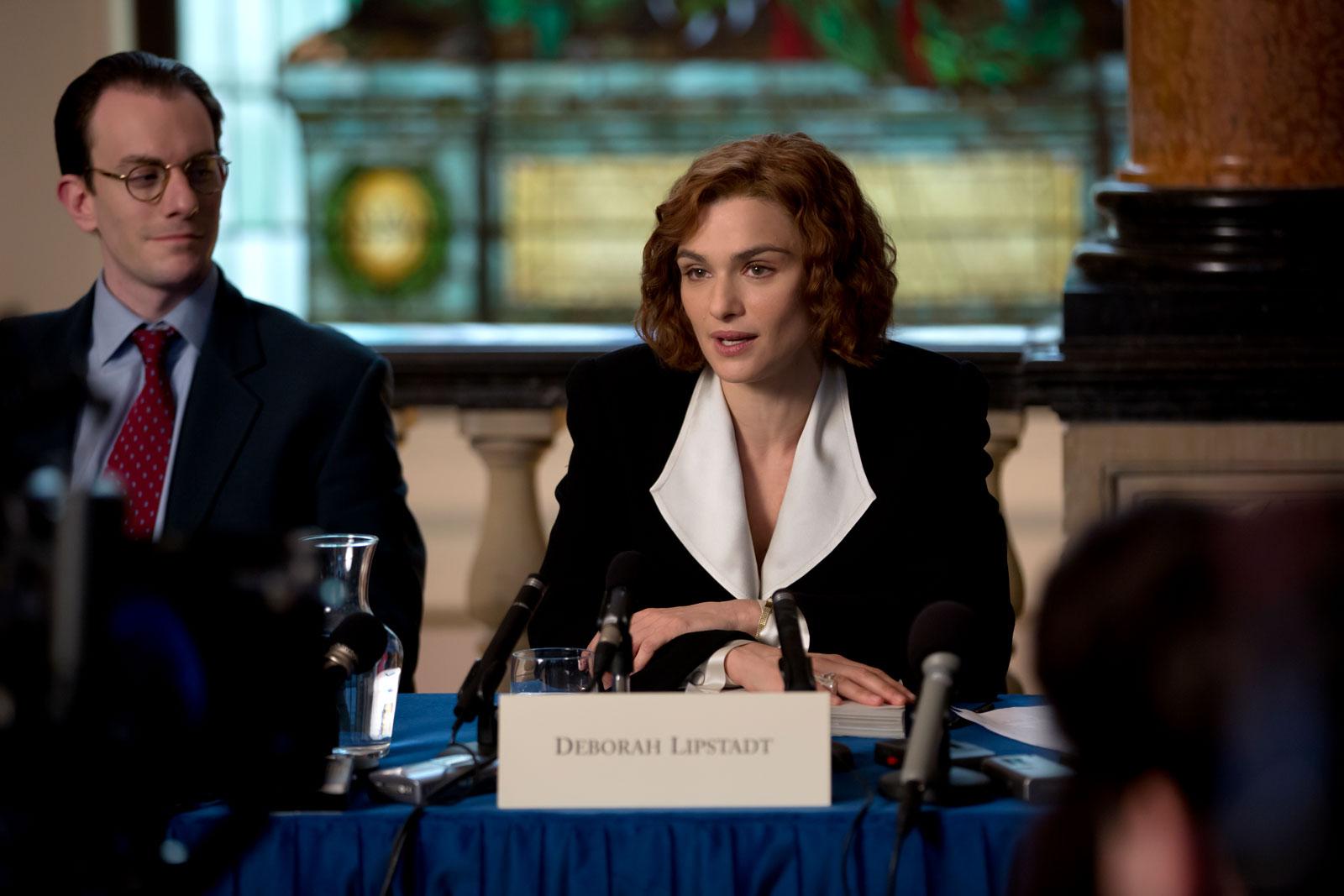 Rachel Weisz as Deborah E. Lipstadt in Mick Jackson's Denial, 2016