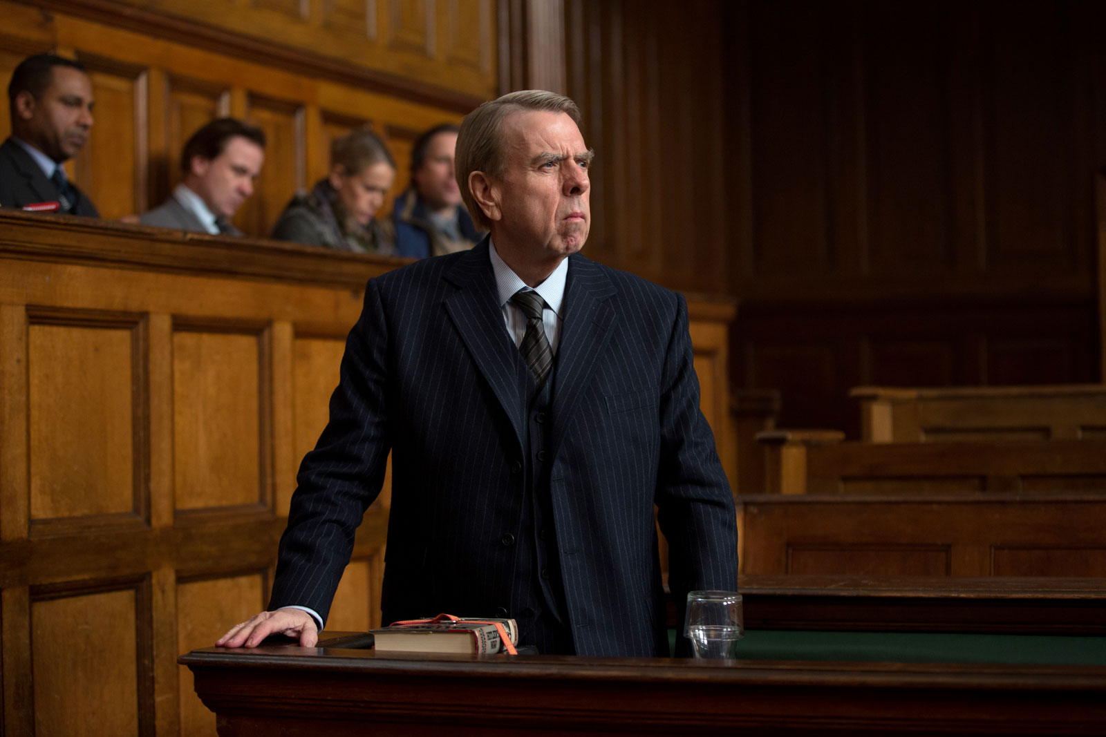 Timothy Spall as David Irving in Denial, 2016