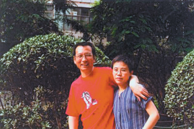 Nobel Peace Prize laureate Liu Xiaobo and his wife Liu Xia in an undated photograph taken before he was sent to prison for 'subversion of state power' after he helped to write Charter 08, a petition that called for 'freedom of speech, freedom of the