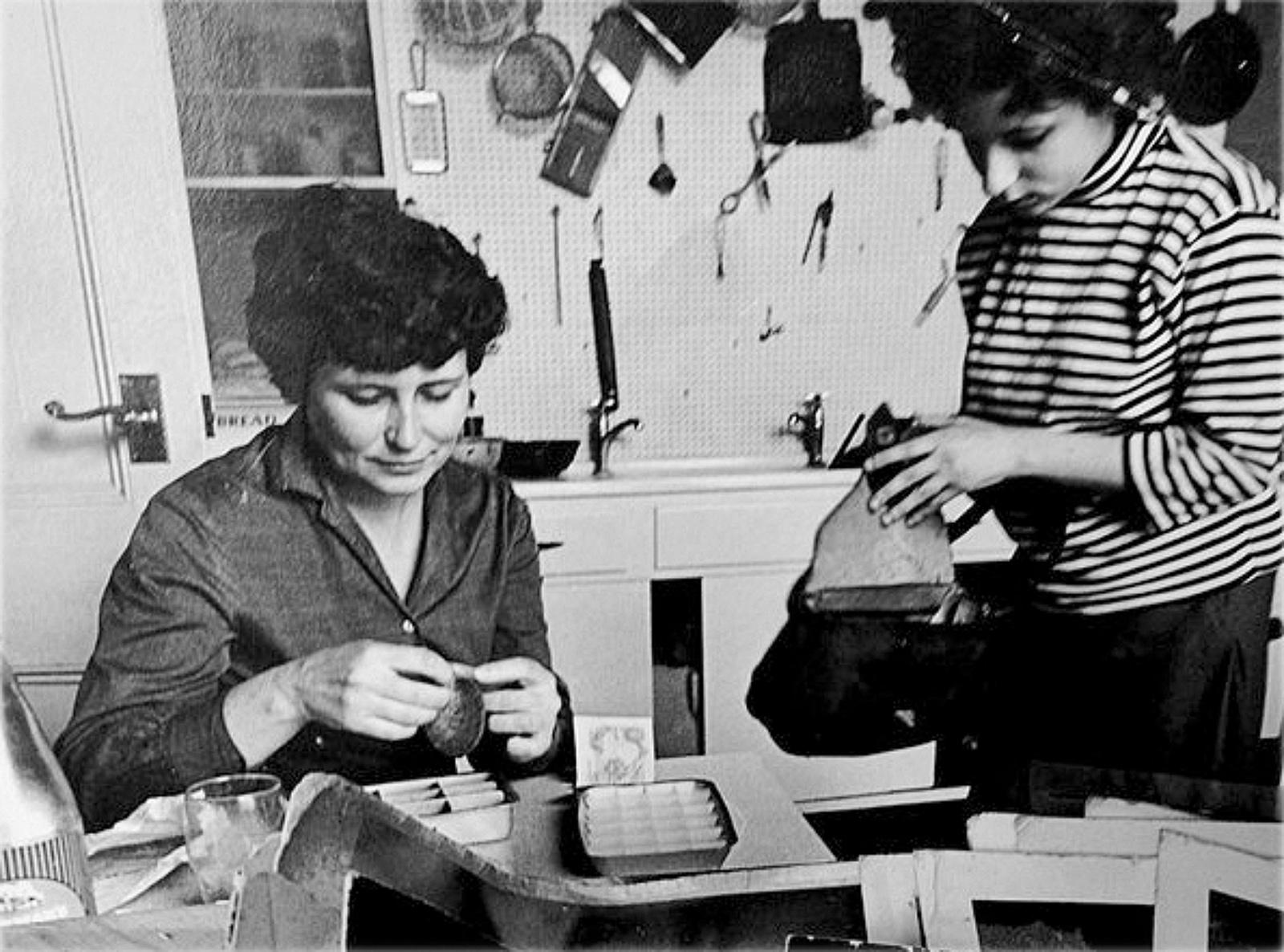 Doris Lessing and Jenny Diski, London, 1963