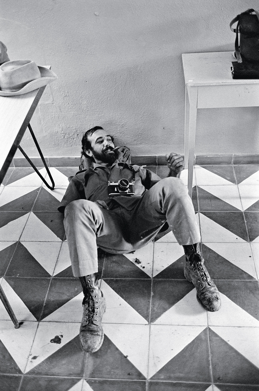Fidel Castro's photographer Alberto Díaz Guiterrez, known as Korda, 1965