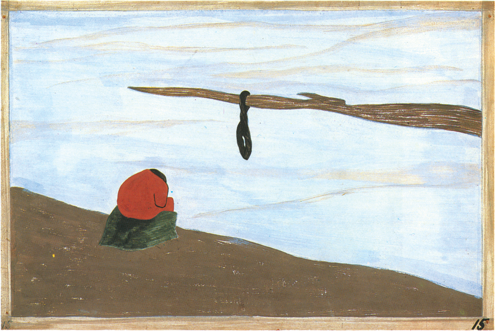 Jacob Lawrence: from the series The Migration of the Negro, 1940–1941