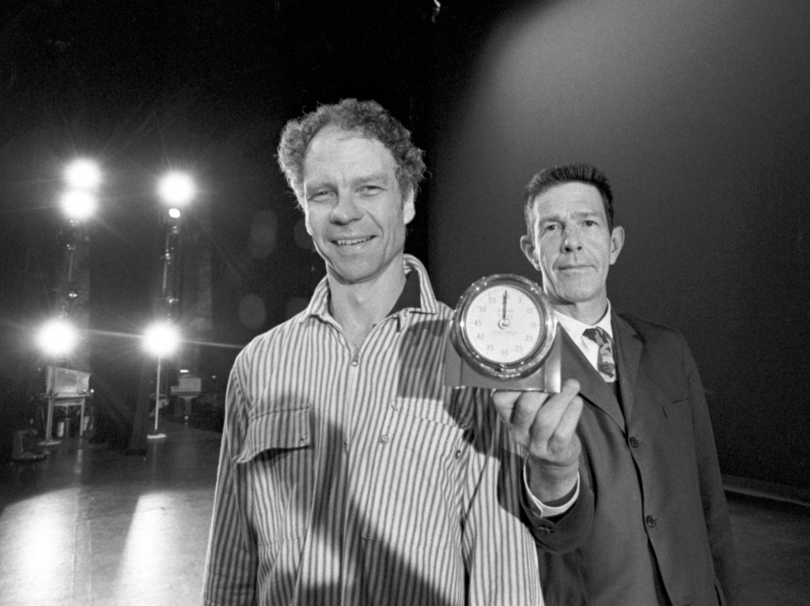 Merce Cunningham and John Cage, 1963