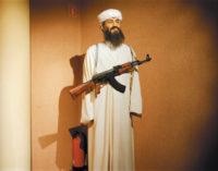 A wax figure of Osama bin Laden, Międzyzdroje, Poland, September 2008