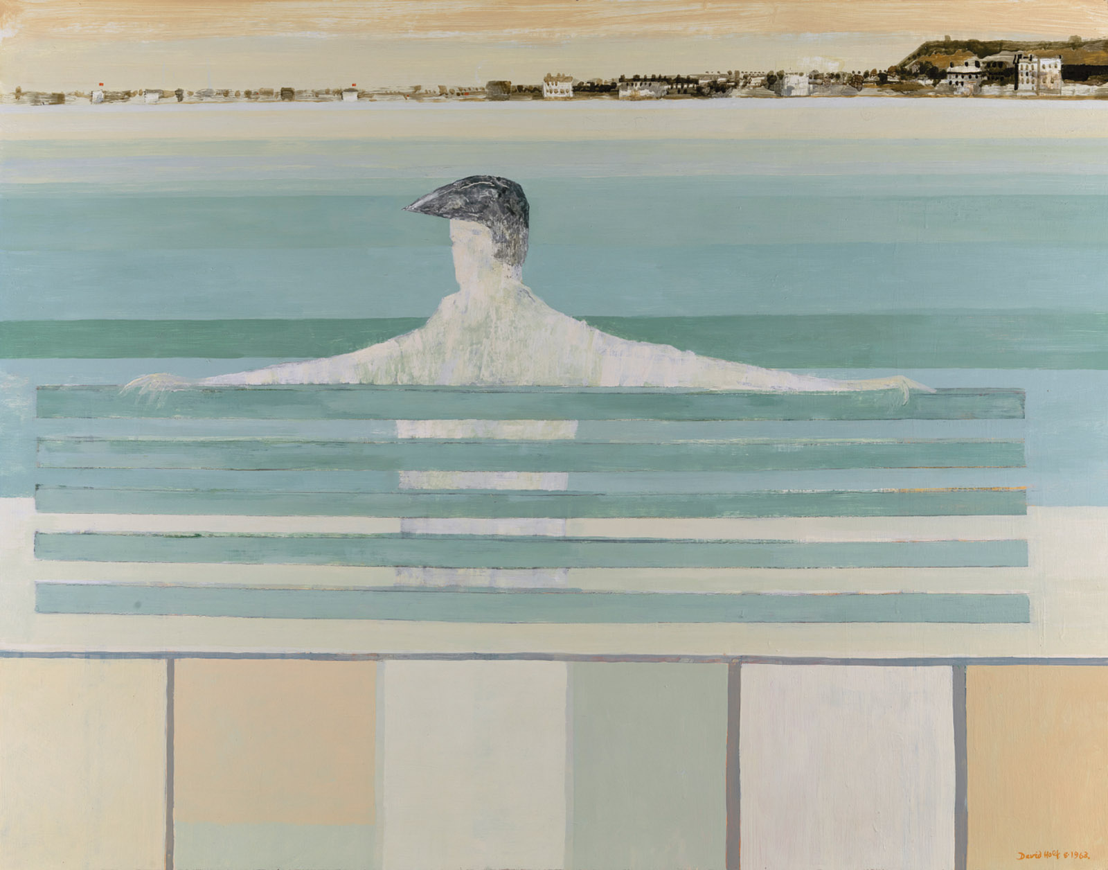 David Holt: Coastal Watcher, 1963; from Modernism and Memory: Rhoda Pritzker and the Art of Collecting, the catalog of a recent exhibition at the Yale Center for British Art, edited by Ian Collins and Eleanor Hughes and published by Yale University Press