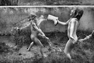 'La Famille'; photograph by Alain Laboile from Family Photography Now, a collection of work by forty contemporary photographers. It includes essays by Sophie Howarth and Stephen McLaren, and is published by Thames and Hudson.