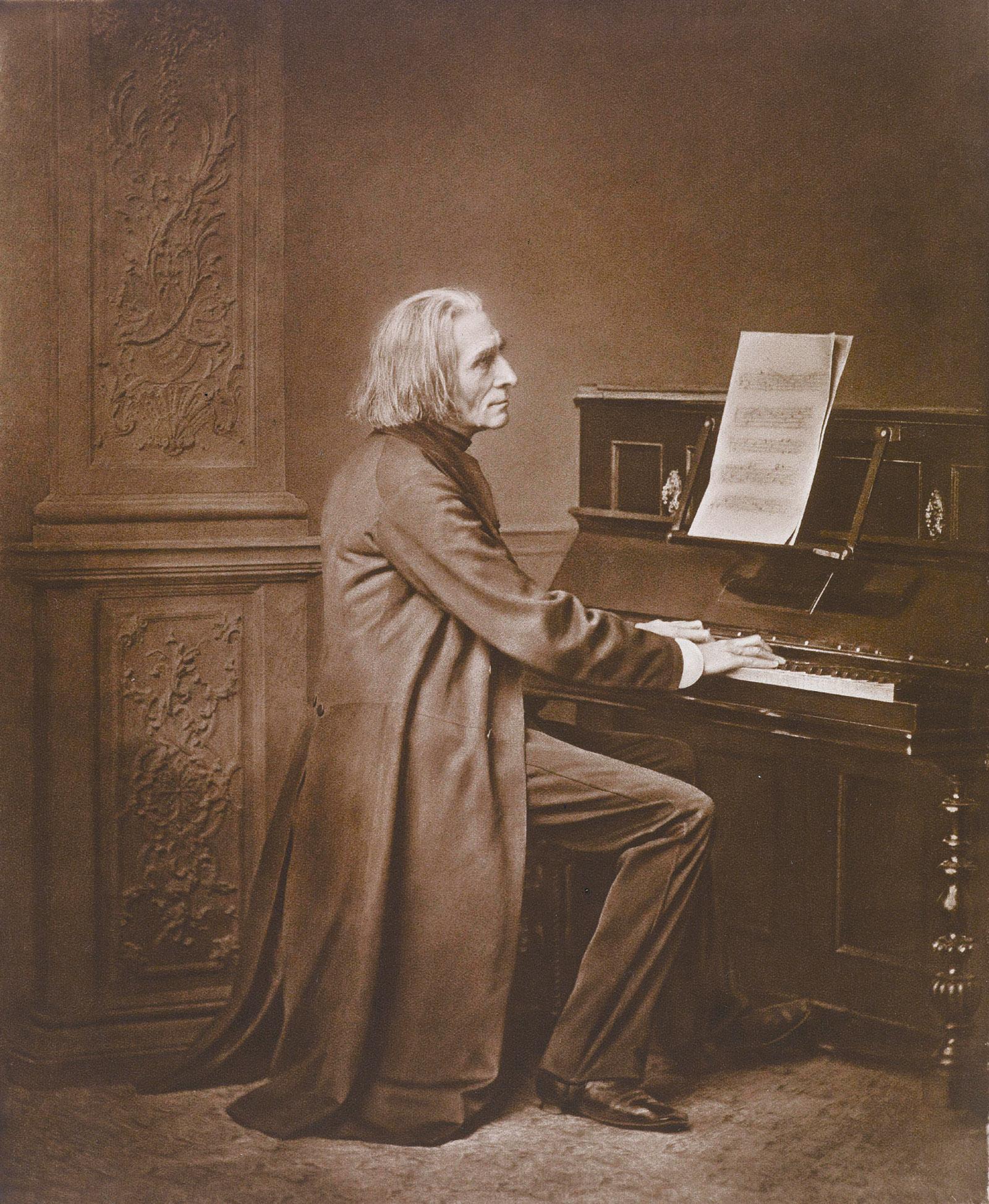 Franz Liszt, circa 1869