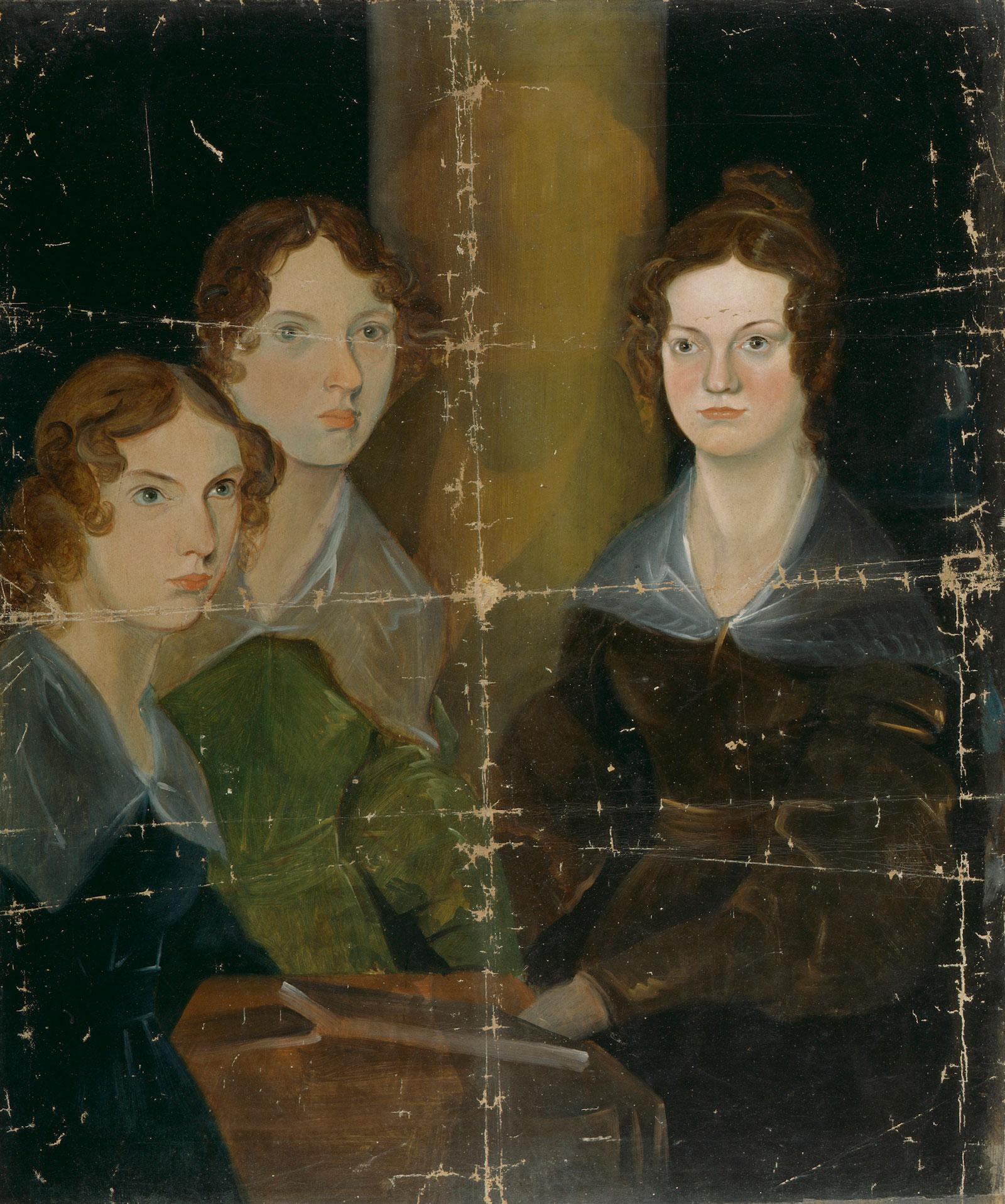 charlotte-bronte-family-portrait