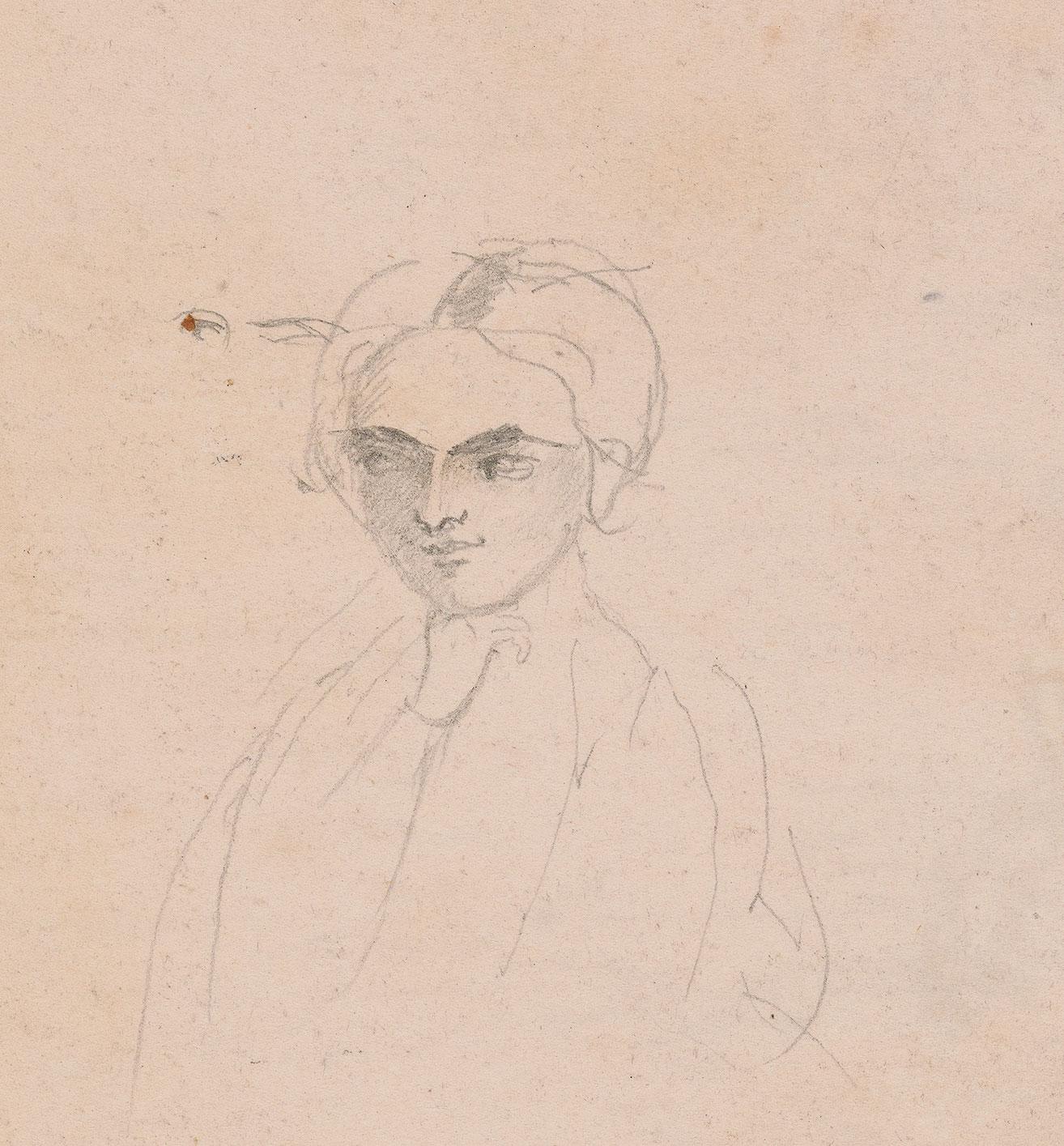 charlotte-bronte-self-portrait