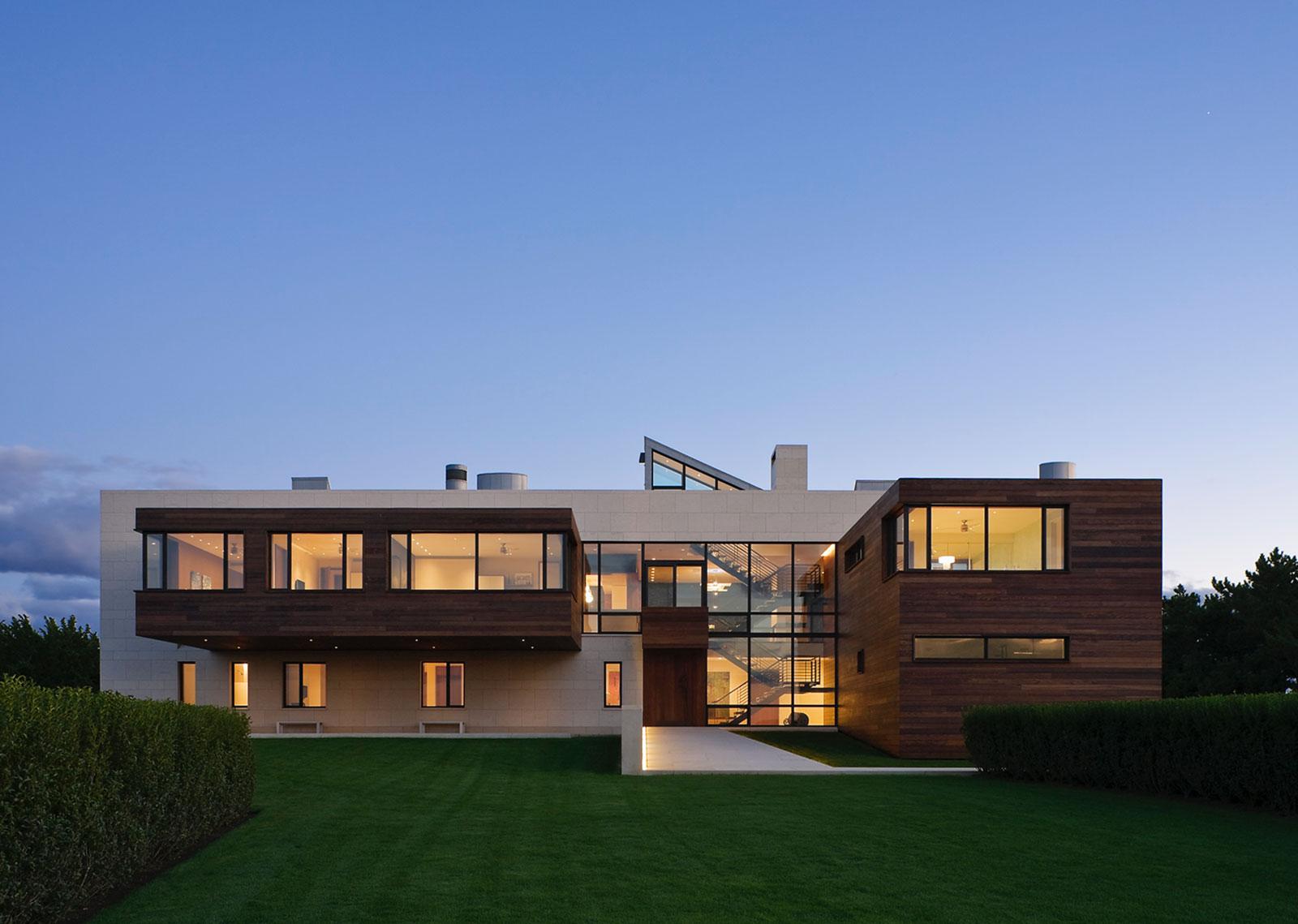 Alexander Gorlin Architects' Southampton beach house (2006-2009), Southampton, New York