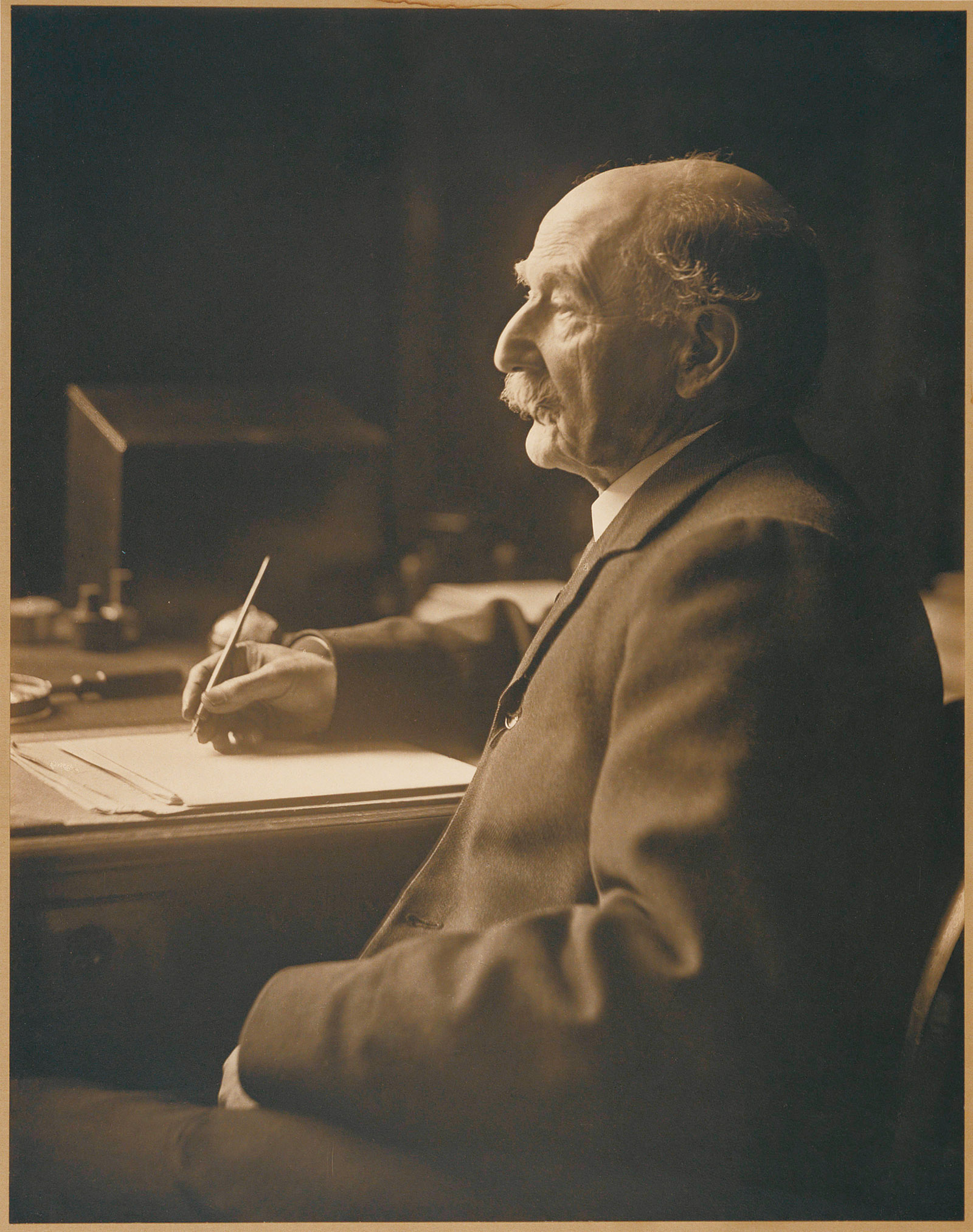 Thomas Hardy, 1913; photograph by Olive Edis