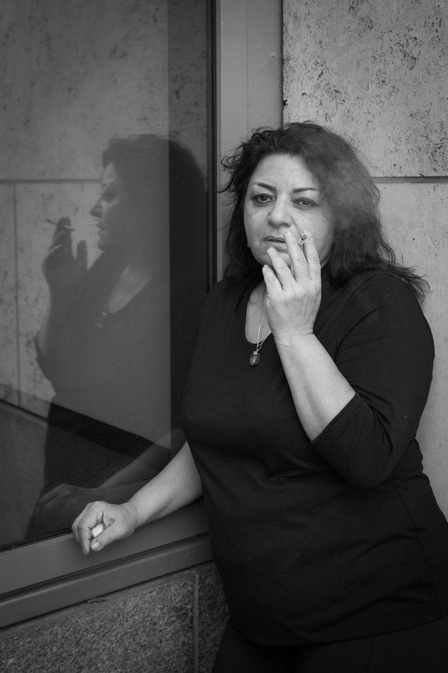 Rasha Omran, Berlin, Germany, January, 2016