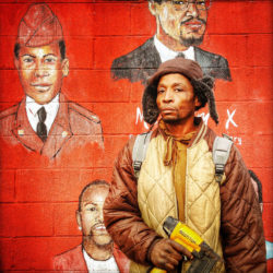 Ruddy Roye: Michael Pughes (I Am Man Series), Brooklyn, NY, 2016