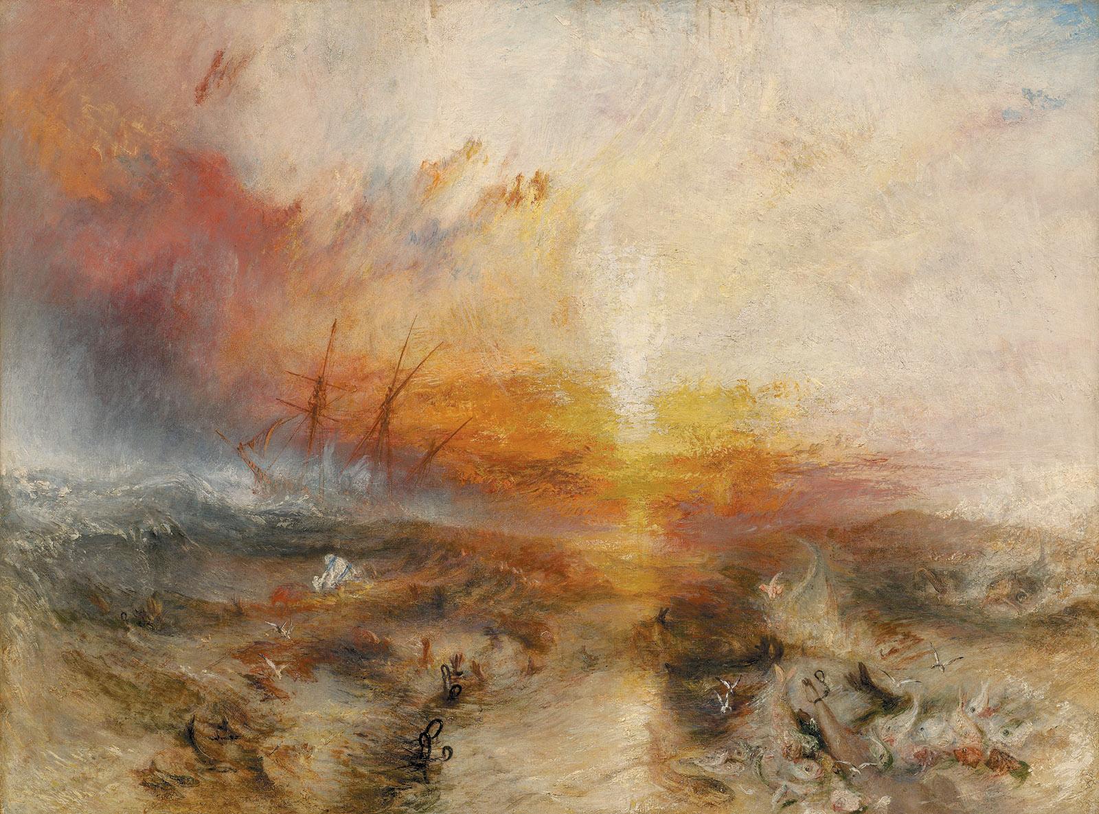 J.M.W. Turner: Slave Ship, 1840