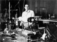 The physicist Friedrich Houtermans, Göttingen, Germany, 1937