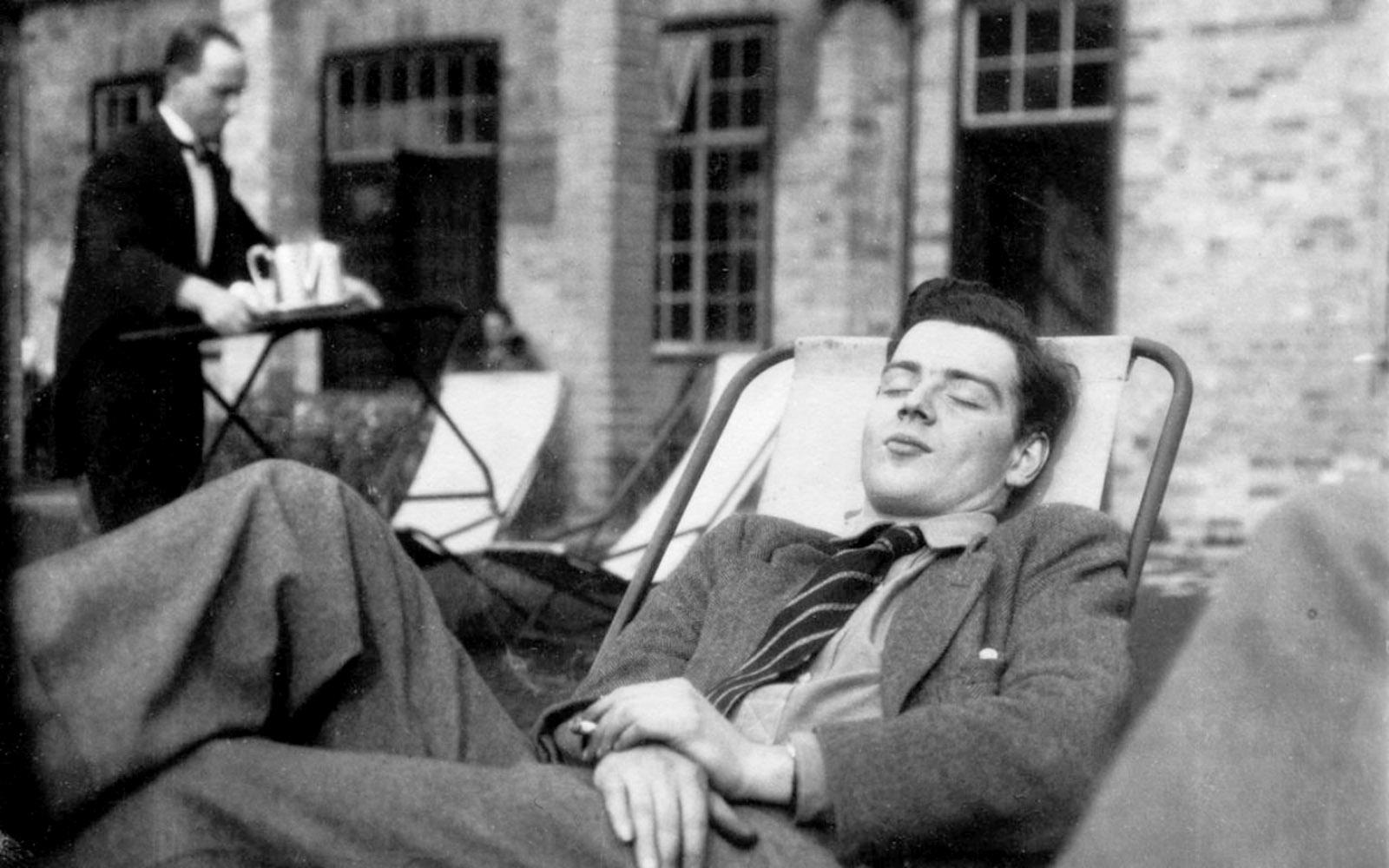 Guy Burgess at his Cambridge friend Steven Runciman's house on the Hebridean island of Eigg, summer 1932
