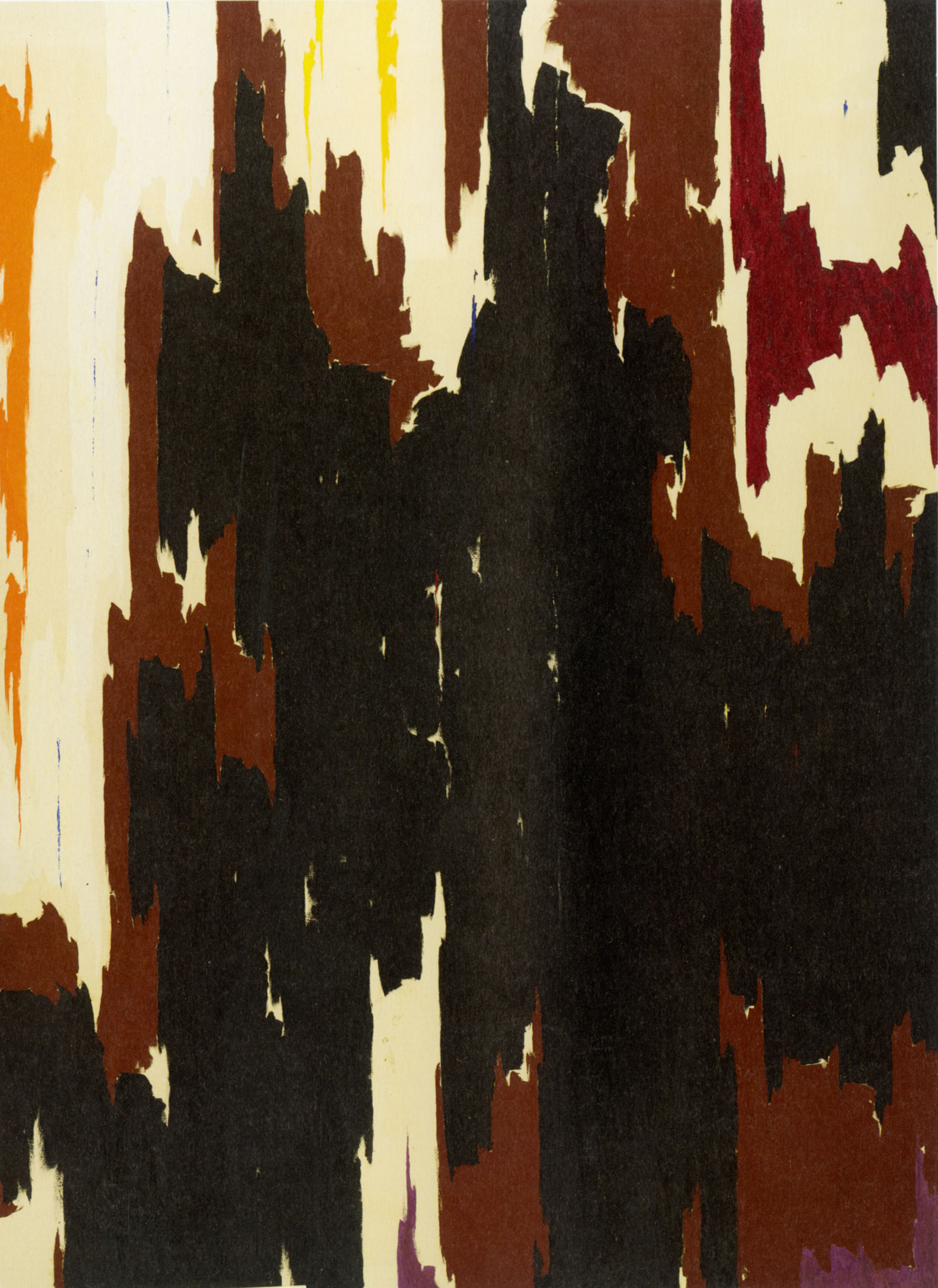 Clyfford Still: PH-150, 1958; click image to enlarge