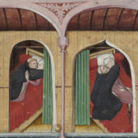 Day one, fourth story of The Decameron (detail) by Giovanni Boccaccio, fifteenth century