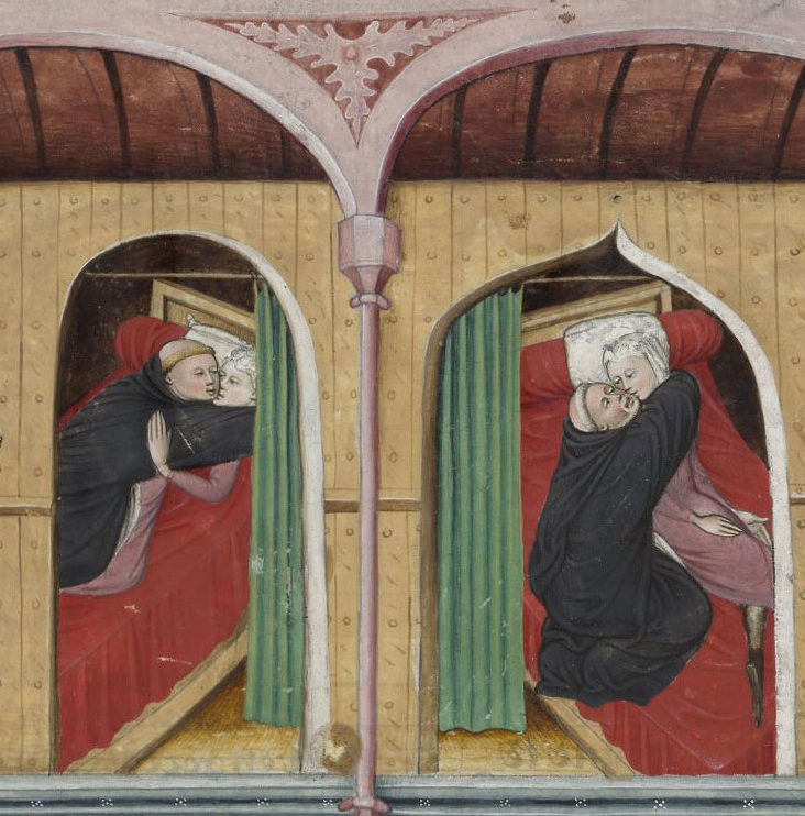 Illustration from a French edition of <em>The Decameron</em>, fifteenth century