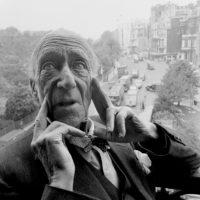 Algernon Blackwood, London, 1951; photograph by Norman Parkinson