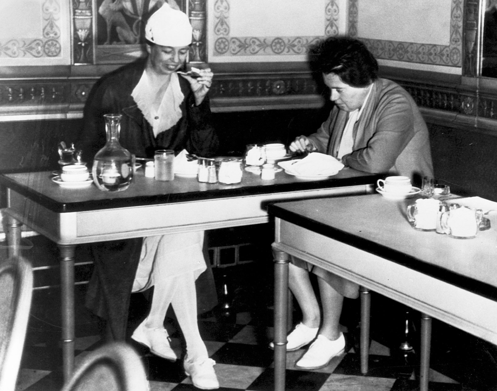 Eleanor Roosevelt and Lorena Hickok, San Francisco, August 1934