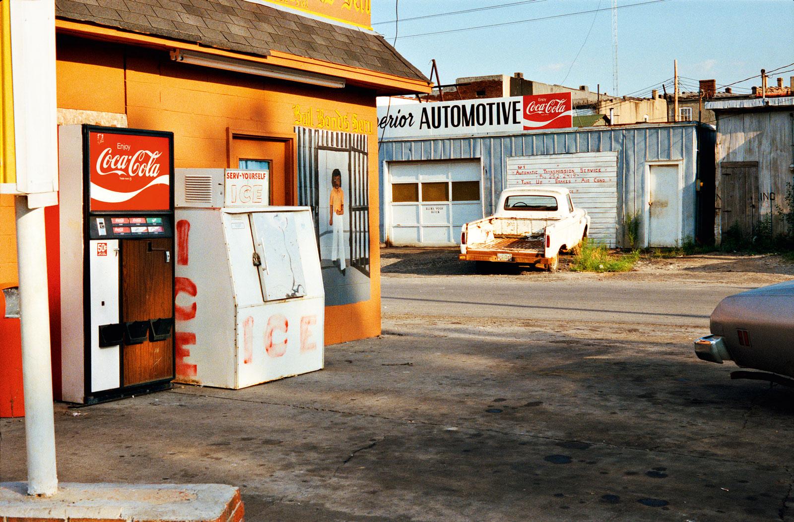 William Eggleston: <em>Untitled</em> from <em>The Democratic Forest</em>, 1983-1986
