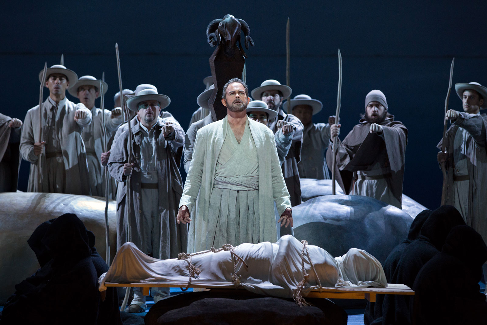 Gerald Finley in the title role of Rossini's Guillaume Tell, 2016