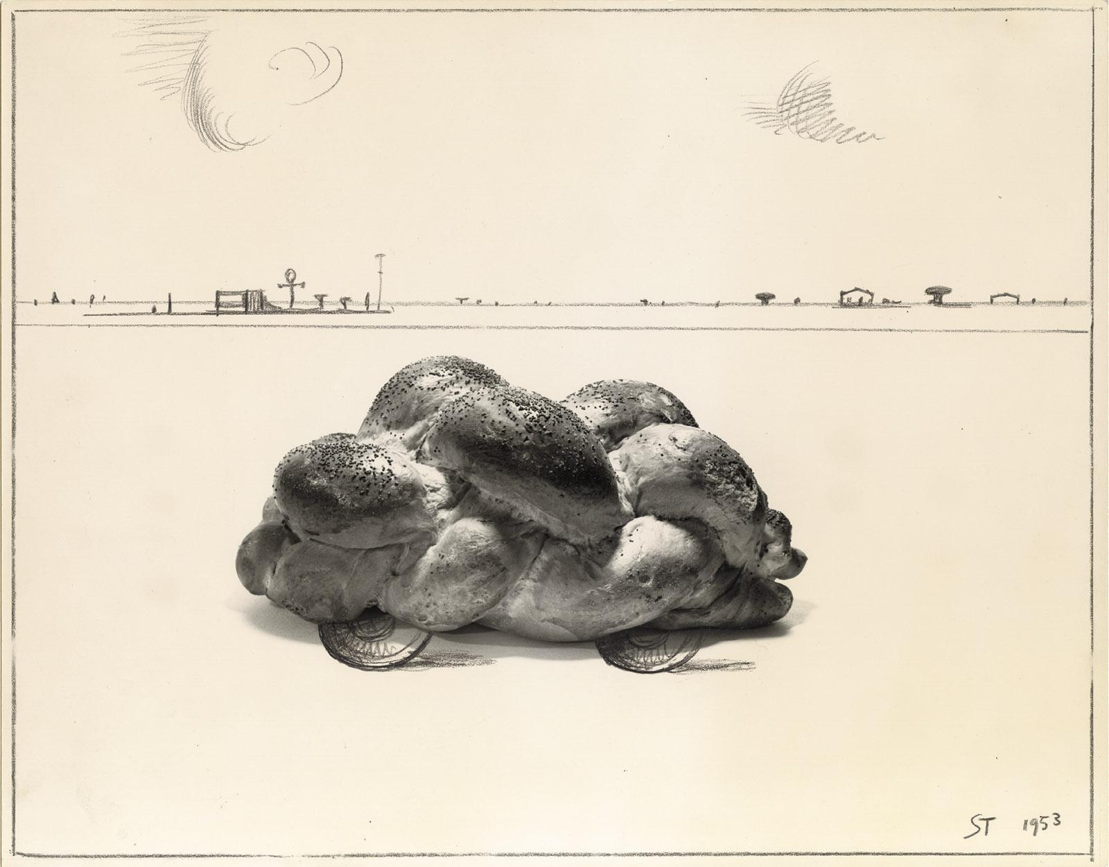 Saul Steinberg: Car, 1953