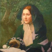 Julia Ward Howe; portrait begun by John Elliott, circa 1910, finished by William Henry Cotton, circa 1925