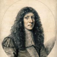 John Aubrey; portrait by William Faithorne, seventeenth century