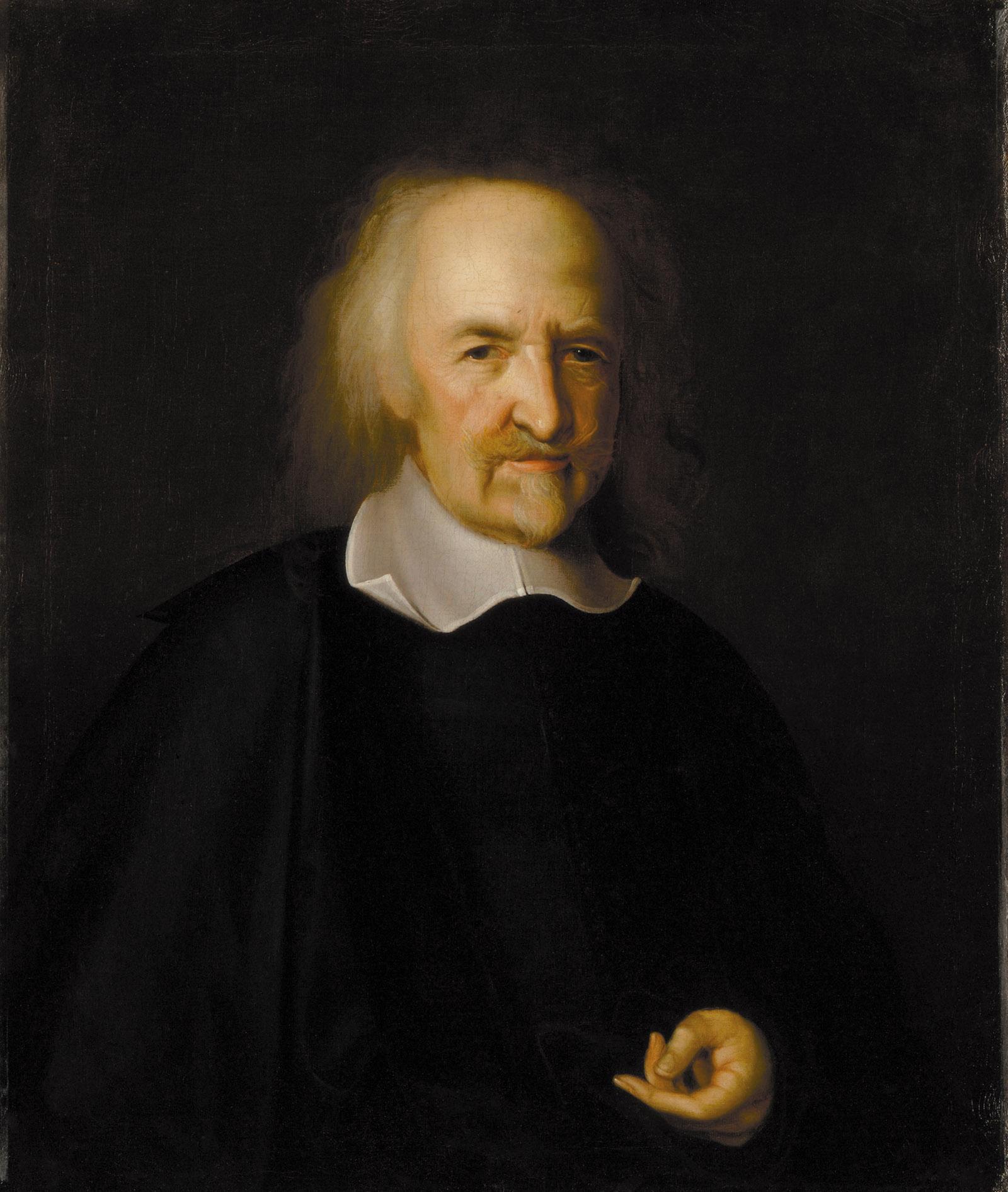 Thomas Hobbes; portrait by John Michael Wright, circa 1669–1670