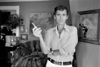James Merrill, Stonington, Connecticut, June 1973; photograph by Jill Krementz