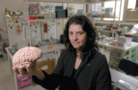 Suzana Herculano-Houzel, head of the Laboratory of Comparative Neuroanatomy at the Federal University of Rio de Janeiro, August 2015
