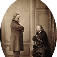 'Herzen Against Herzen'; photograph by Sergei Lvovich Levitsky, 1865