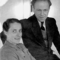 Werner and Elisabeth Heisenberg, Göttingen, Germany, circa 1946