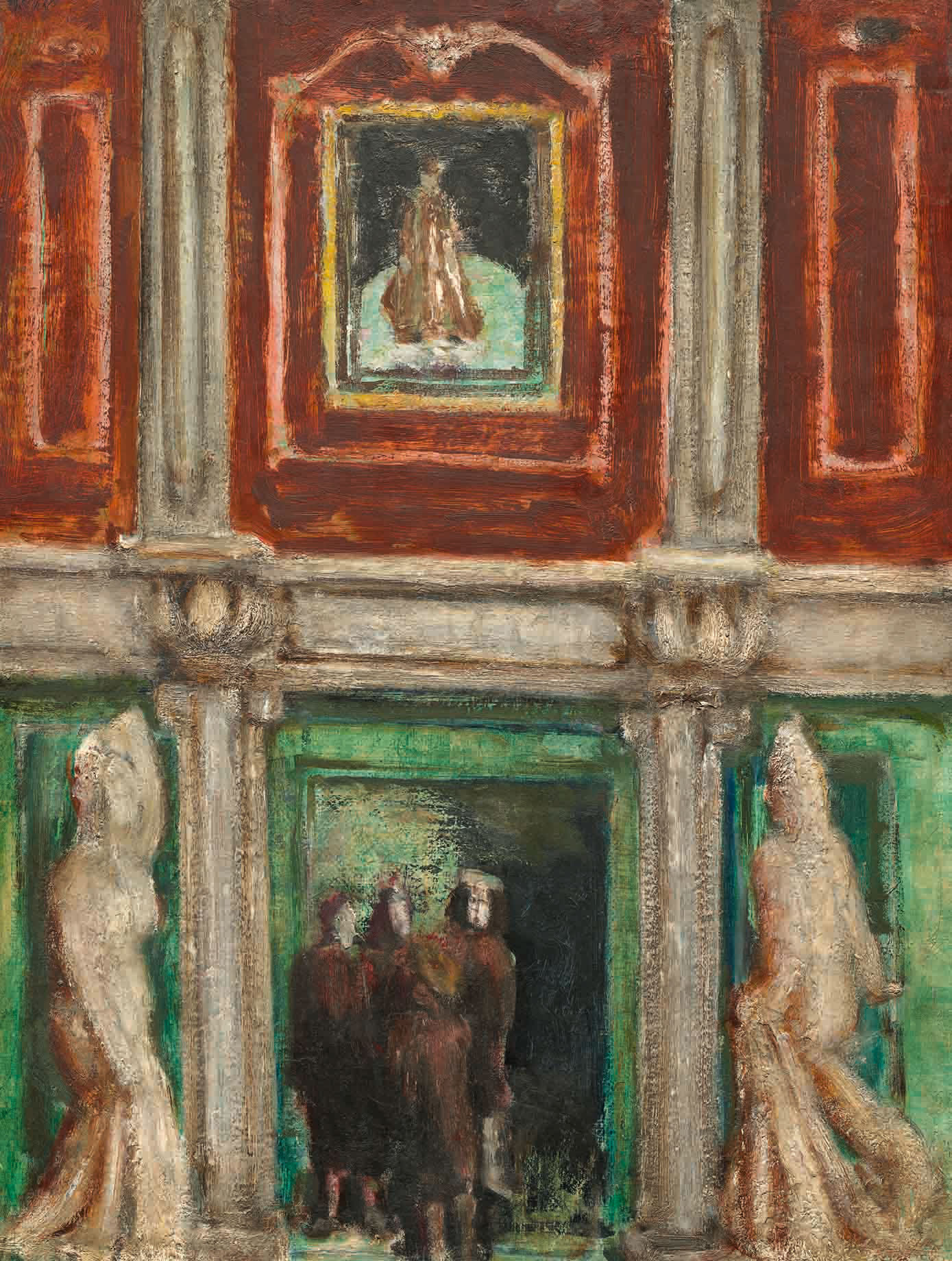 Mark Rothko: Interior, 1936; click image to enlarge