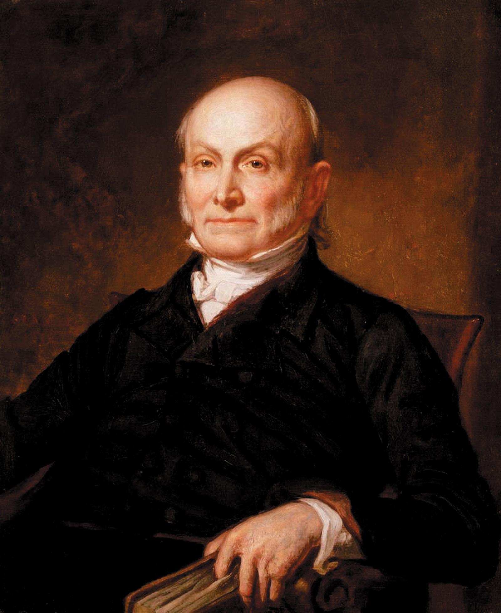 John Quincy Adams; painting by George Healy, 1846
