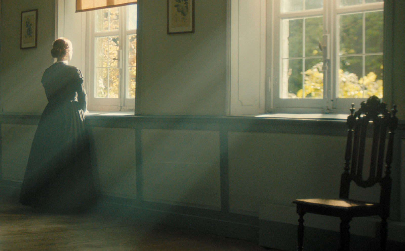 Cynthia Nixon as Emily Dickinson in Terence Davies's film A Quiet Passion
