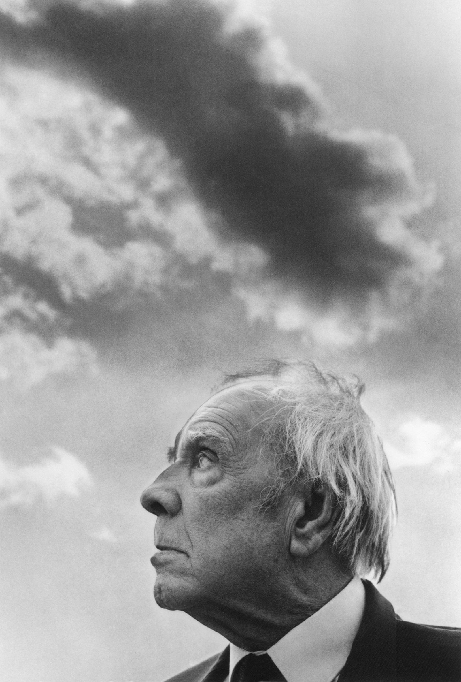Jorge Luis Borges, Palermo, Sicily, 1984