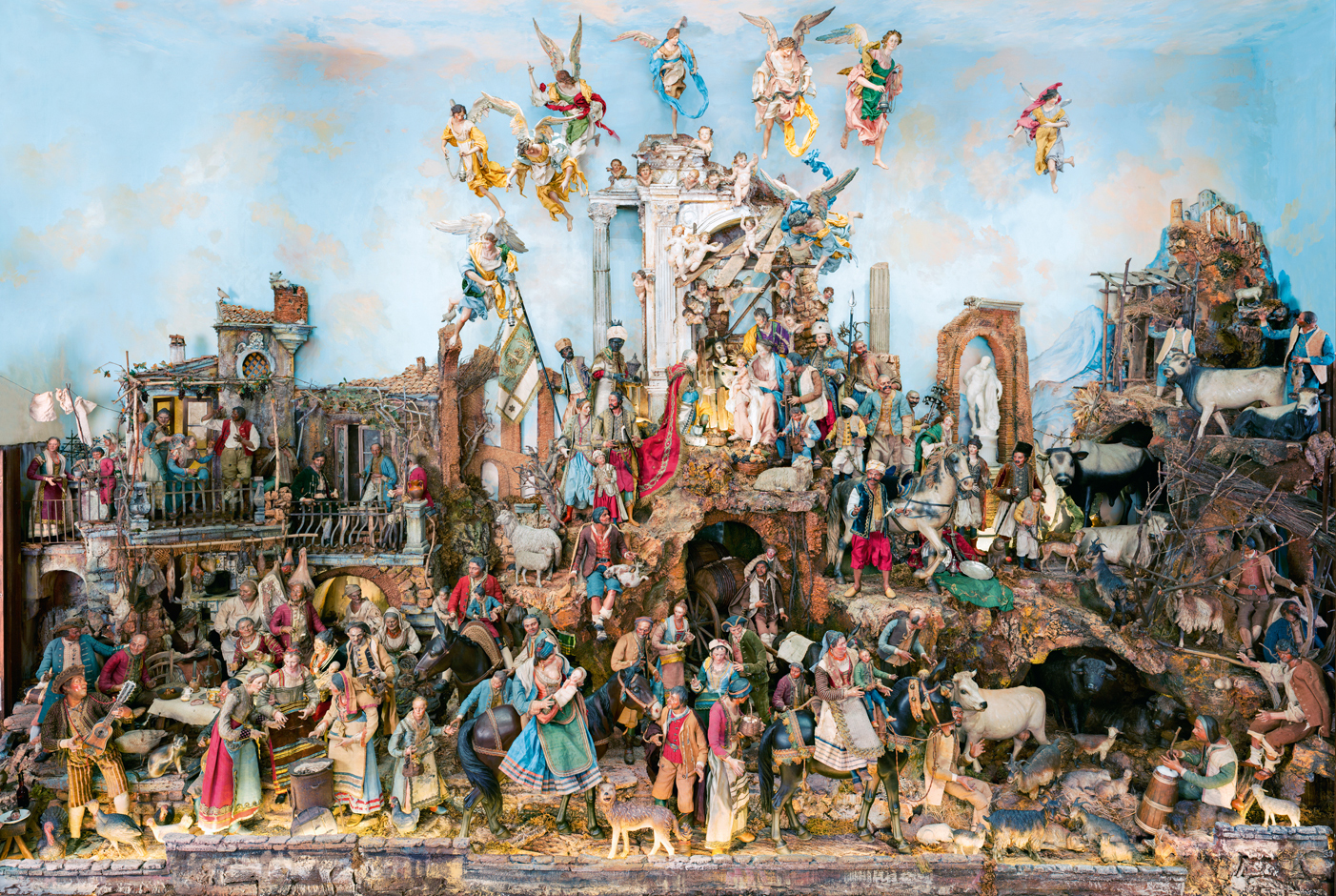 The Chicago Art Institute's Neapolitan crèche ensemble, as currently installed, Chicago, 2016;