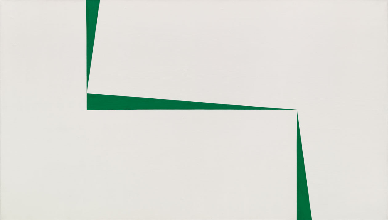 Carmen herrera art without lies by claire messud nyr - Blanco y verde ...
